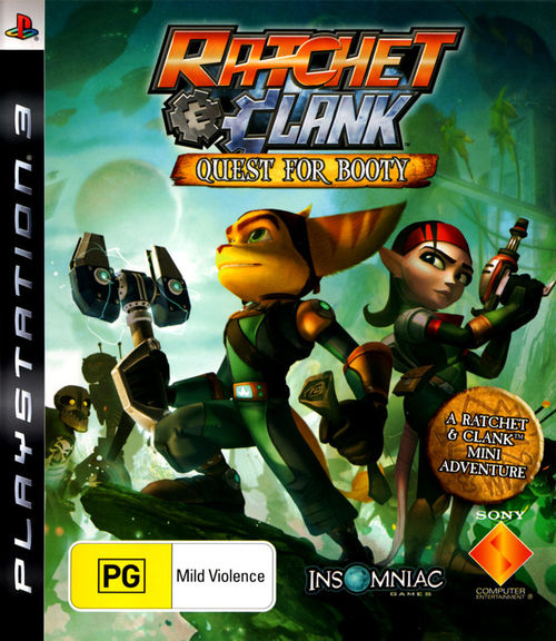 Cover for Ratchet & Clank Future: Quest for Booty.