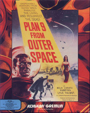 Cover for Plan 9 from Outer Space.