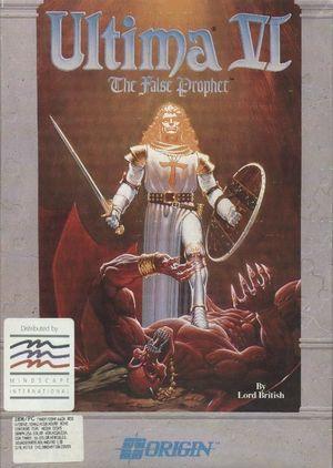 Cover for Ultima VI: The False Prophet.