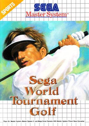 Cover for Sega World Tournament Golf.