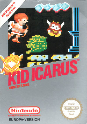 Cover for Kid Icarus.