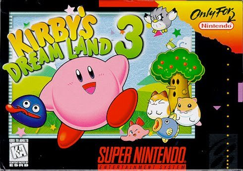 Cover for Kirby's Dream Land 3.
