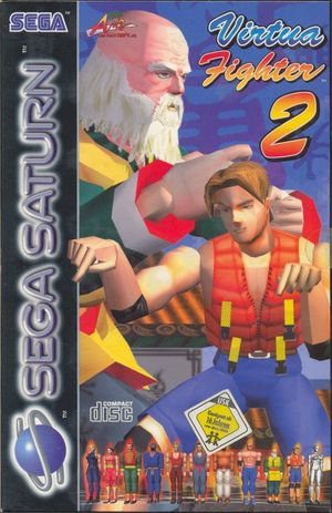 Cover for Virtua Fighter 2.