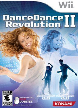 Cover for Dance Dance Revolution II.