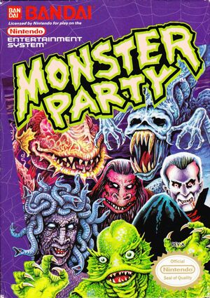 Cover for Monster Party.