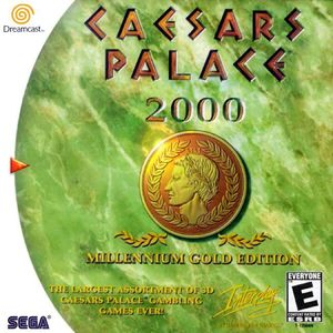 Cover for Caesars Palace 2000.