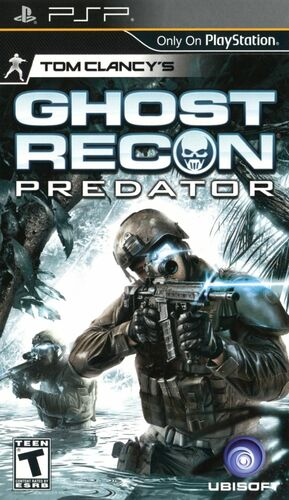 Cover for Tom Clancy's Ghost Recon Predator.