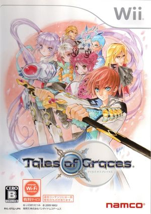 Cover for Tales of Graces.