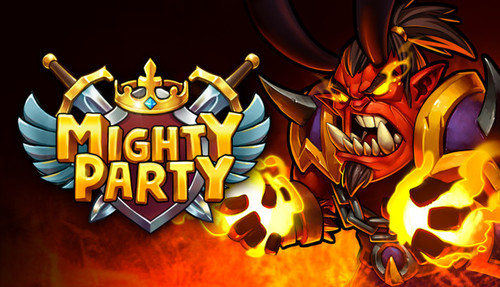 Cover for Mighty Party.