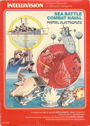 Cover for Sea Battle.