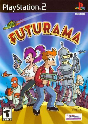 Cover for Futurama.