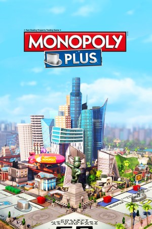 Cover for Monopoly Plus.