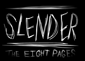 Cover for Slender: The Eight Pages.