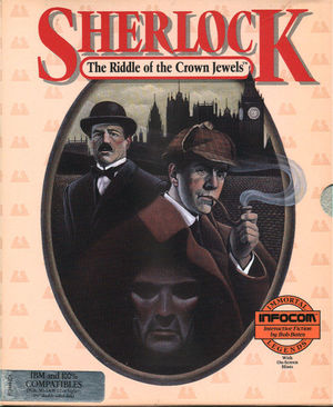 Cover for Sherlock: The Riddle of the Crown Jewels.