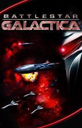 Cover for Battlestar Galactica.