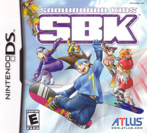 Cover for SBK: Snowboard Kids.