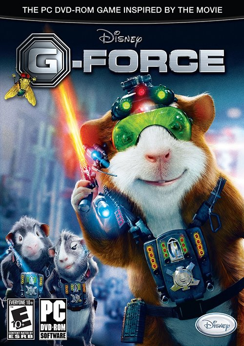 Cover for G-Force.