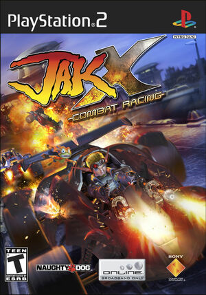 Cover for Jak X: Combat Racing.