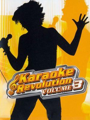 Cover for Karaoke Revolution: Volume 3.