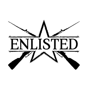Cover for Enlisted.