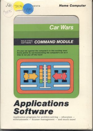 Cover for Car Wars.