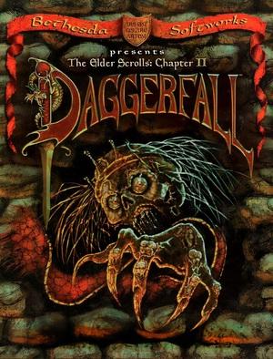 Cover for The Elder Scrolls II: Daggerfall.