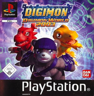 Cover for Digimon World 3.