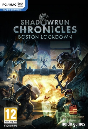 Cover for Shadowrun Online.