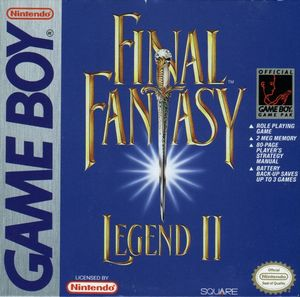 Cover for Final Fantasy Legend II.