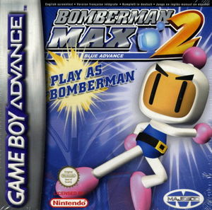 Cover for Bomberman Max 2.