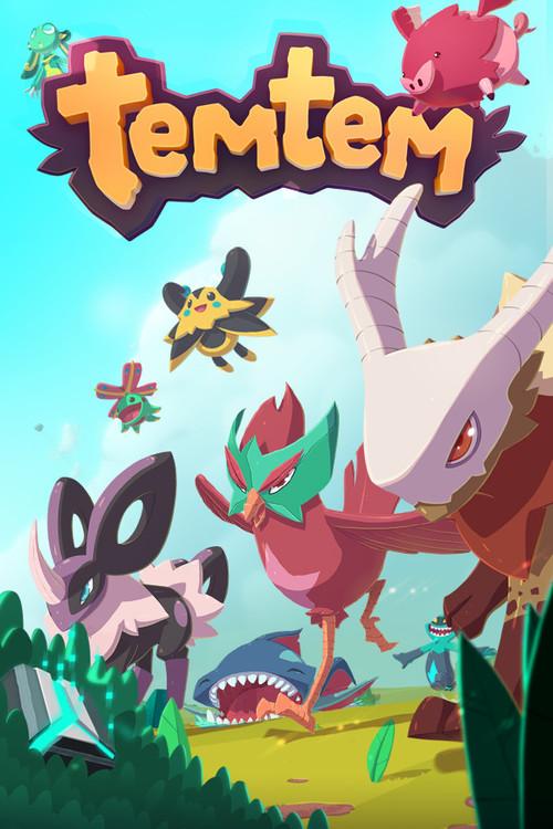 Cover for Temtem.