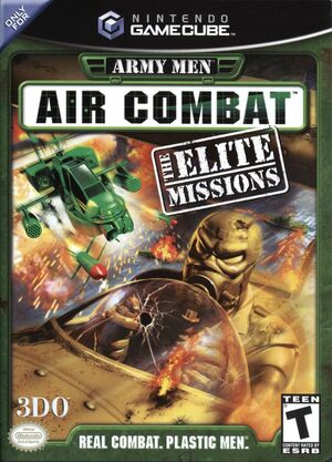 Cover for Army Men: Air Combat - The Elite Missions.