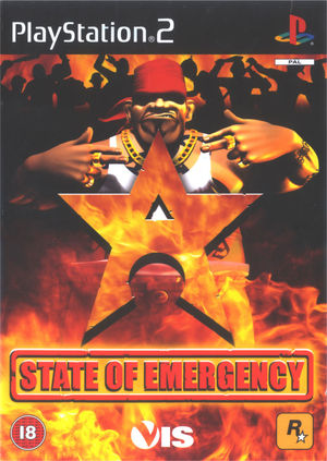Cover for State of Emergency.