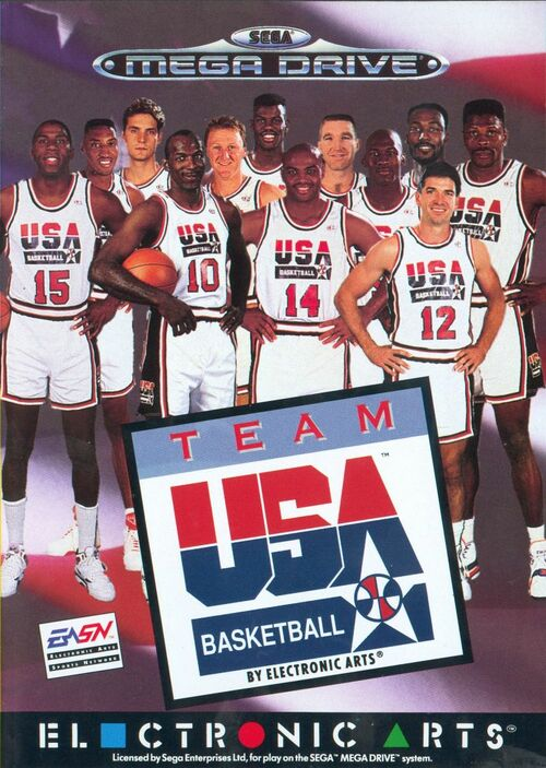 Cover for Team USA Basketball.