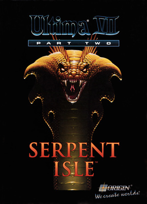 Cover for Ultima VII Part Two: Serpent Isle.