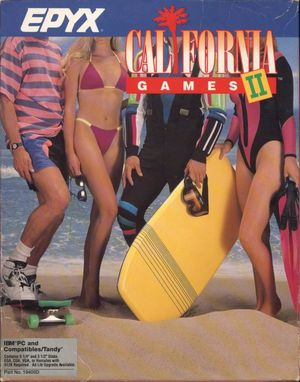 Cover for California Games II.