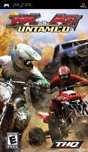 Cover for MX vs. ATV: Untamed.