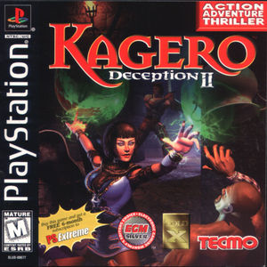 Cover for Kagero: Deception II.