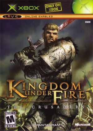 Cover for Kingdom Under Fire: The Crusaders.