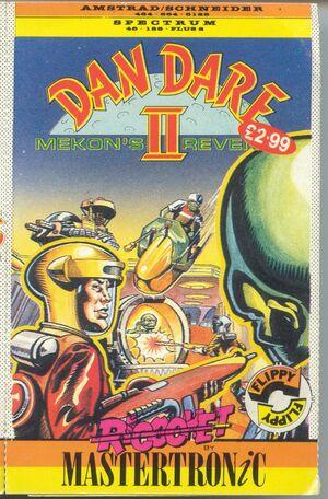 Cover for Dan Dare II: Mekon's Revenge.