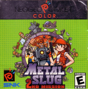 Cover for Metal Slug 2nd Mission.