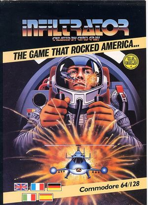 Cover for Infiltrator.