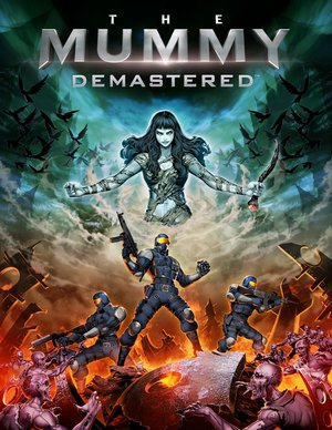 Cover for The Mummy Demastered.