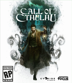 Cover for Call of Cthulhu: The Official Video Game.