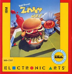 Cover for Zany Golf.