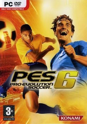 Cover for Pro Evolution Soccer 6.