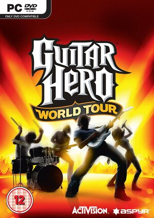Cover for Guitar Hero World Tour.