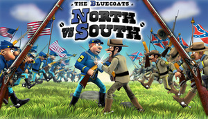 Cover for The Bluecoats: North vs South.