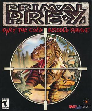 Cover for Primal Prey.