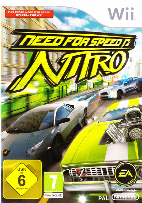 Cover for Need for Speed: Nitro.